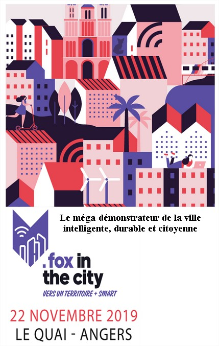 SETUR et Urban Think au salon Fox in the City 2019 à Angers